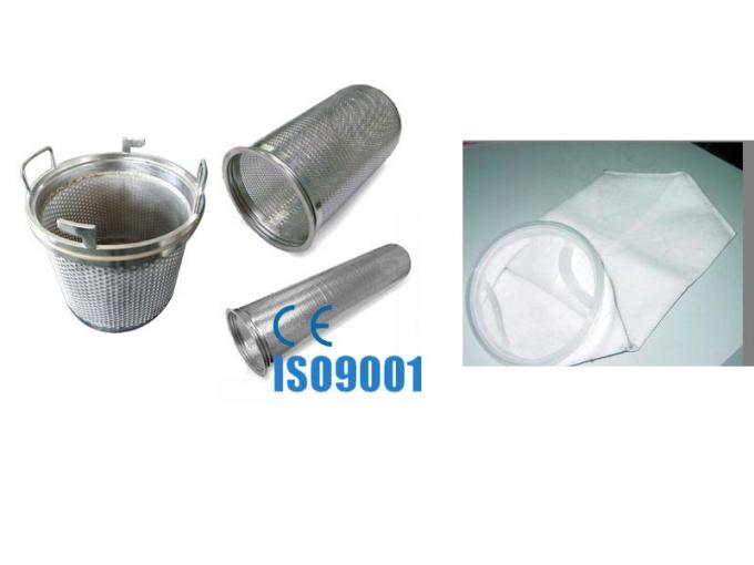 Top Entry Stainless Steel Bag Filter Housing With ASME U Stamp
