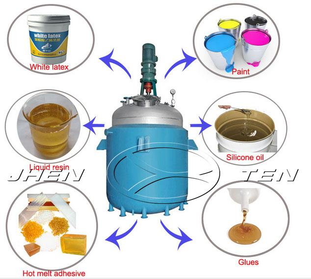 Packing Fluidized Semi Fed Batch Enzyme Bed Stirred Tank Reactor For Food Grade