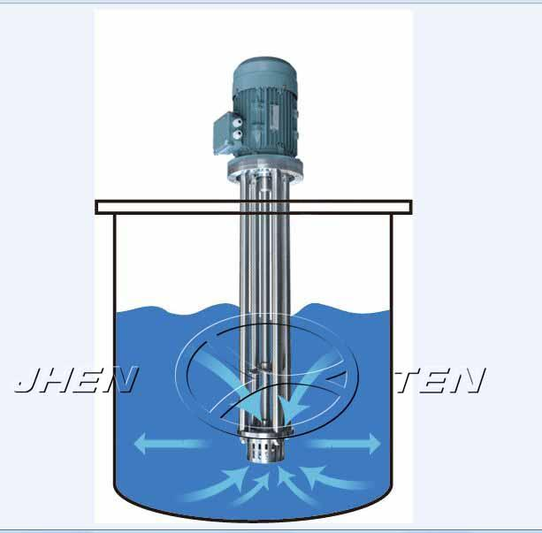 Pressure Stainless Steel Mixing Tank / Oil Olive SS Agitator Tank