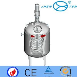 China Commercial Biodiesel Processor Glass Pressure Reactor For Resins / Adhesives supplier