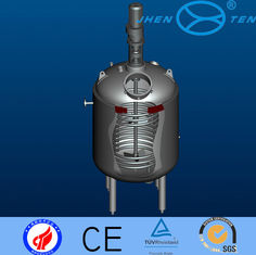 China SUS304 / SUS316 Pressure Chemical Process Reactors For Hydrolysis / Neutralization supplier