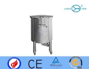 China SS316L SS304 Open Type Stainless Steel Storage Tank With Universal Wheel supplier