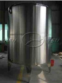 China Horizontal Potable Bolted  Steel Eelevated Water Storage Tanks With Dimple Jacket Safety Grade supplier