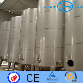 China 2B Cold Rolling Stainless Steel Storage Tank Company / Milk Tanker For Sale supplier