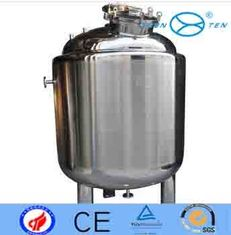 China Sanitary  Biological  Vertical Storage Tanks Polished Surface supplier