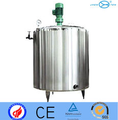 China Stainless Steel Liquid Mixing Tank Equipment Mixer Jacketed Mixing Vessel supplier