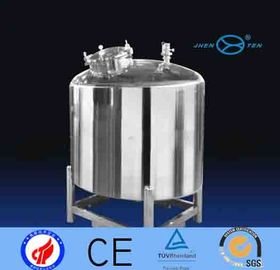China Beverage Stainless Steel Water Storage Tank Wholesale With Stationary Foot supplier