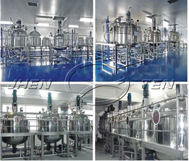 China Ss304 Milk Mixing Tank , Mirror Matt Surface Stainless Steel Storage Tanks supplier