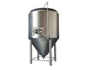 China Fully Enclosed Inner Recycle Sanitary Stainless Fermentation Tank For Wine supplier