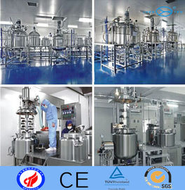 China Pressure Stainless Steel Mixing Tank / Oil Olive SS Agitator Tank supplier