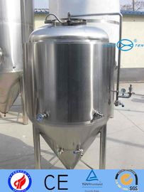 China 100 - 30000L Stainless Fermentation Tank  Inox Beer Fermenting Vessel Easy Clean  Maintain supplier