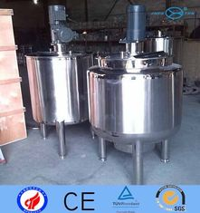 China 800L Inox Sanitary Cstr  Continuous Stirred Tank Reactors With Mixer Stainless Steel supplier