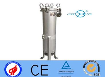 China SS304 Filter Cartridge Housing Industrial Water Filter Ozone Water Purifier supplier