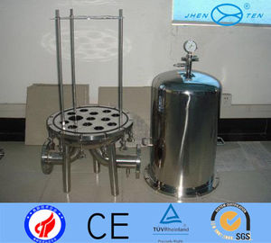 China SS304 SS316 Cartridge  Beer Wine High Pressure Filter Housing Sediment supplier