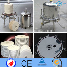 China Residential Stainless Steel Filter Housings Cartridge Pressure Vessel supplier