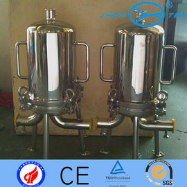 China Stainless Steel Inox Precision Sanitary Filter Housing For Sugar Syrups Beer Final Filtration supplier