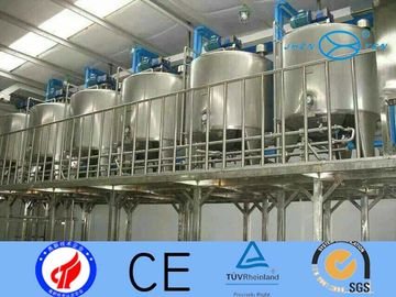 China Probiotics Stainless Fermentation Tank With Sterile Operate Yogurt Production Line supplier