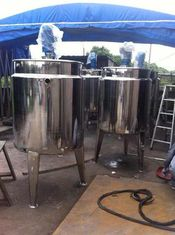 China 500L / 1000L / 1500L Inox Soy Sauce Stainless Fermentation Tank Equipment supplier