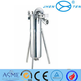 China Stainless Steel Mesh Strainer Top Entry Filter Housing 12 Months Warranty supplier