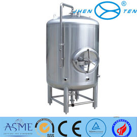 China 100 - 30000L Stainless Steel Fermenter Inox Beer Fermenting Vessel supplier