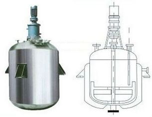 China High Pressure Stirred Tank Reactor With Vertical Circular Tanks SS304 SS316 supplier