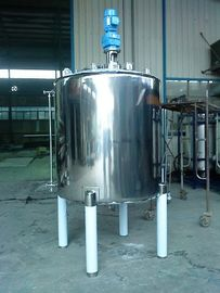 China Thick / Thin Agitator Mixing Tank Adopts Vertical Circular Tanks supplier