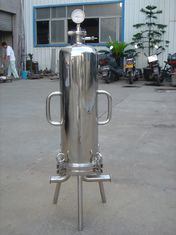 China 8R 9R Sanitary Filter Housing For Sugar Syrups and Beer Final Filtration supplier