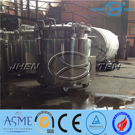 China Electrical Condensate Vessel Mixing Pump Oil Reaction Chocolate Melting Tank supplier