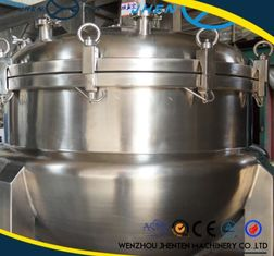 China 500L Stainless Steel Steam Jacketed Kettle With Agitator CE Approved supplier