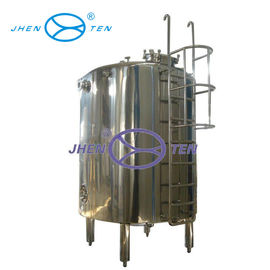 China Sanitary Stainless Steel Insulated Water Tank Easy Cleaning For Purified Water Storage supplier