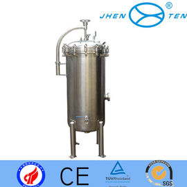 China separator pvdf  industrial cartridge filters high pressure vessels For Beer 1.0 Mpa supplier