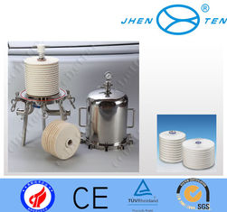 China Depth Module Juice milk filter housings stainless steel  food grade supplier