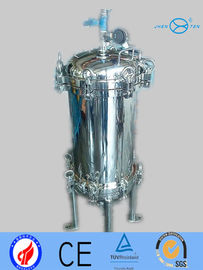 China Polished Surface Millipore Filter Housing 10 Water Filter Housing supplier
