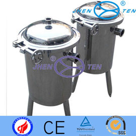 China Prefilter Stainless Steel Basket Type Filter With Silicone Gasket supplier