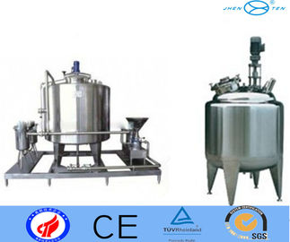 China 100 Gallon Stainless Steel Tank , Sugar Wax Chocolate Mixing Tank supplier