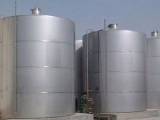 China Hygienic Atmospheric Metal Food Grade Water Storage Tank Factory Single Layer supplier