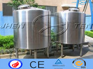 China Vertical Health Grey Water Tanks For Milk / Food / Beverage / Wine factory