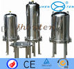 China Wine making equipment ss inline filter housing cartridge with Flange factory