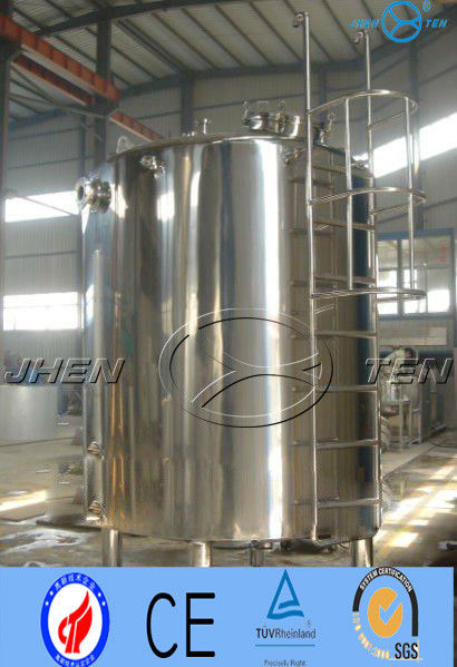 Safety Chemical Equipment Stainless Steel Water Tank Storage