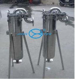 China Petrochemical  Top in Single Bag Filter Housing Surface Polished factory