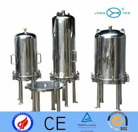 "China ss304 12"" Pressure Tank Lenticular Filter Housing For Wine Beer Filtering factory"