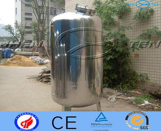 China Custom Easily Treat  Stainless Steel Water Tank Water System Flexible factory