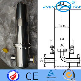 China Industrial Millipore Air Compressor Cartridge Filter Housing Corrosion By Acid distributor