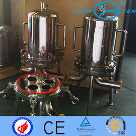 China Muti - Cartridge Sanitary Filter Housings  For Liquid /  Dairy Industry factory