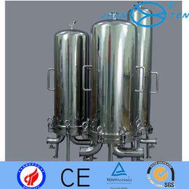 China 304 316 Big Blue Filter Housing For Microorganism Particle Reduction In Wine factory