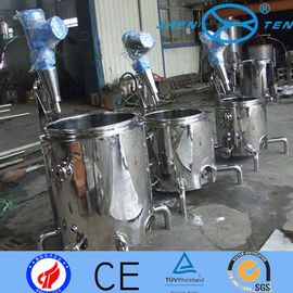 China Cold  Hot Chemical Liquid Mixing Tanks With Agitators 50L - 10T distributor