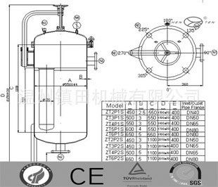 China Specifically Hydraulic Filter Housing  Electrolytic Polishing ss304 / ss316 distributor