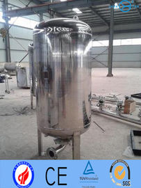 China Ss316 Stainless Steel Pressure Vessels , Mirror Matt High Pressure Kettle factory