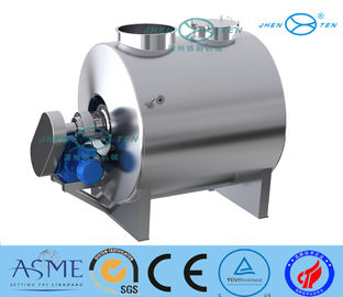 China Horizontal Melting Dissolving Stainless Steel Mixing Tank For Chemical Beverage distributor