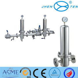 China Final Filtration Inox Stainless Sock Filter Housing For Olive Oil factory
